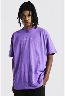 Purple Tall Man Signature T-shirt