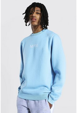 Light blue blue Tall Man Original Sweater