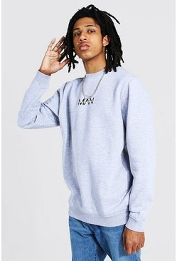 Grey marl grey Tall Man Original Sweater