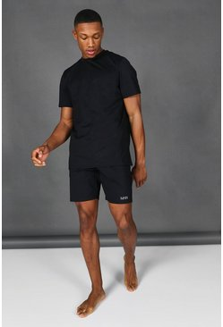 Black Man Active Short Tracksuit