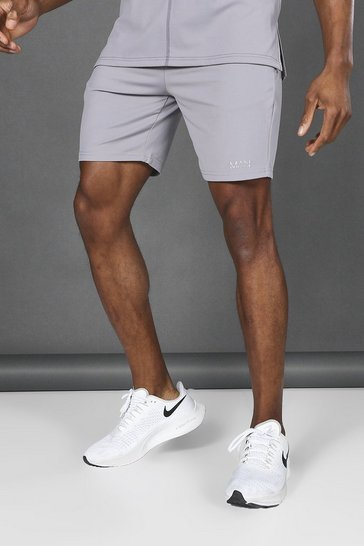 Charcoal grey Man Active Premium Shorts