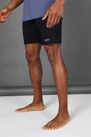 Black Man Active Premium Shorts
