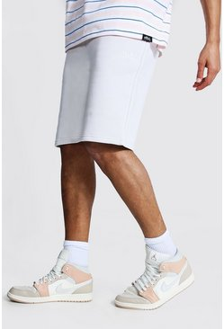 Light grey grey Tall Zware Jersey Official Shorts