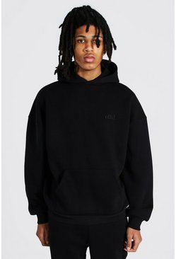 Black Tall Official Heavyweight Hoodie