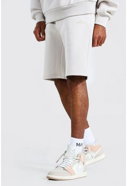 Stone beige Tall Zware Jersey Official Shorts