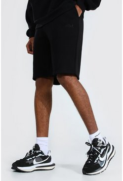 Black Tall Zware Jersey Official Shorts