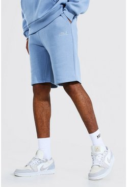 Dusty blue blue Tall Zware Jersey Official Shorts