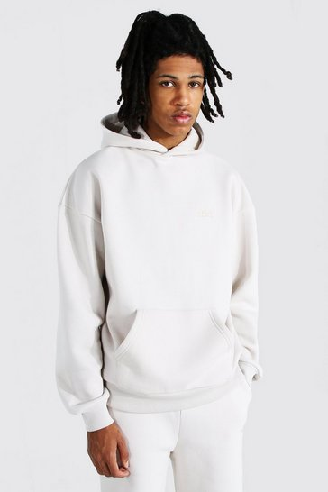 Stone beige Tall Official Heavyweight Hoodie