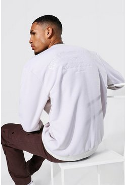 Stone beige Tall Edition Back Embroidered Sweater