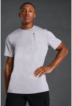 Grey Man Active Pocket T-shirt