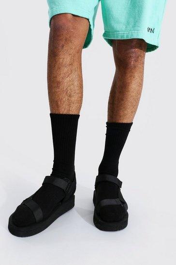 Black Technical Sandal