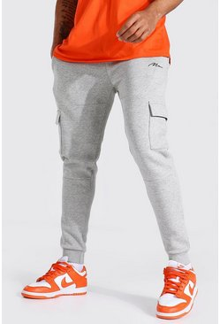 Grey Man Signature Panelled Cargo Jogger