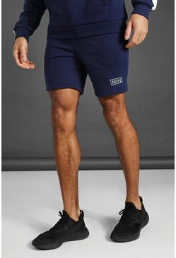 Short de sport - MAN, Navy marine