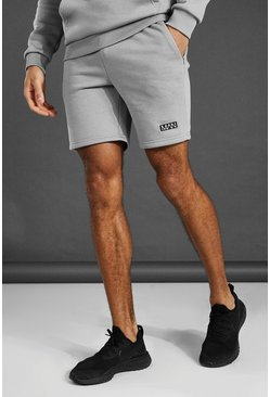 Short de sport - MAN, Grey marl gris
