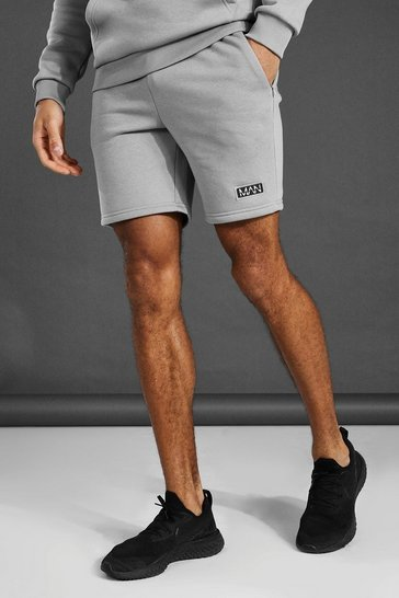 Grey marl grey Man Active Training Shorts