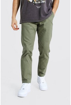 Khaki Slim Fit Chino Trouser