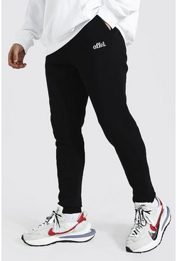 Black Skinny Official Joggers