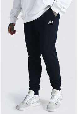 Navy Skinny Official Joggers