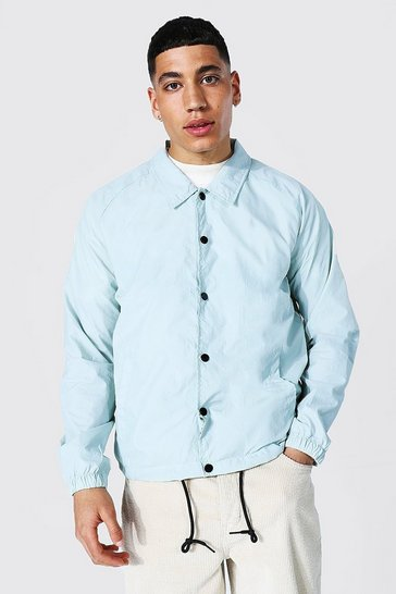 Mint green Nylon Harrington