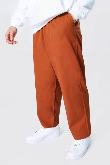 Tan brown Relaxed Fit Chino Trouser
