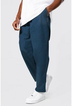 Relaxed Fit Chino Trouser, Navy blu oltremare