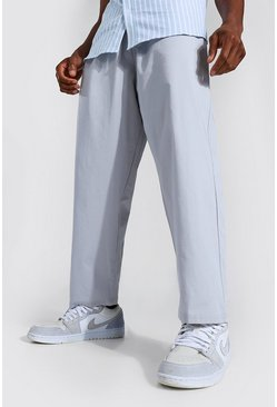 Light grey grey Relaxed Fit Chino Trouser