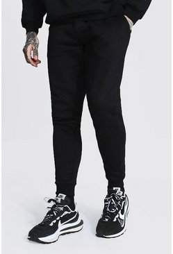 Black Recycled Skinny Fit Jogger
