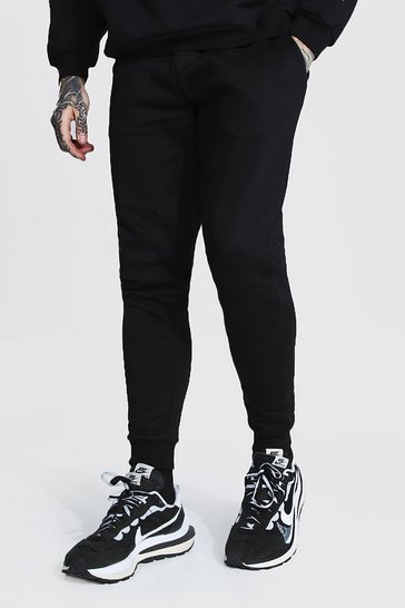 Black Recycled Skinny Fit Joggers