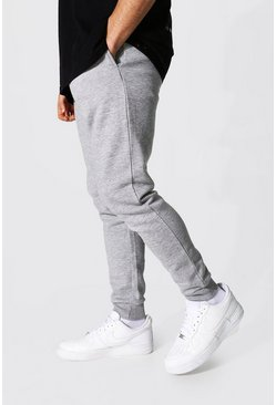 Grey marl grey Skinny Fit Recycled Jogger