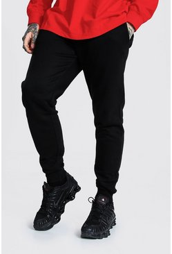 Black Slim Fit Recycled Jogger