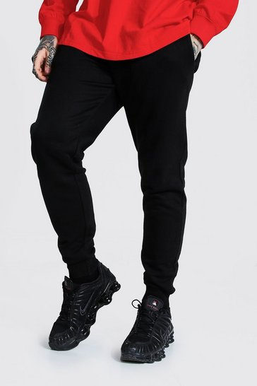 Black Recycled Slim Fit Joggers