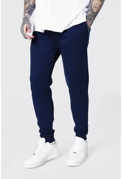 Navy Slim Fit Recycled Jogger