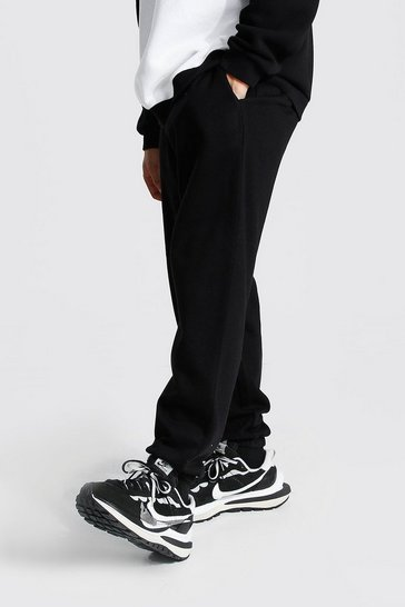 Black Recycled Loose Fit Joggers