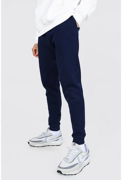 Navy Skinny Fit Recycled Jogger