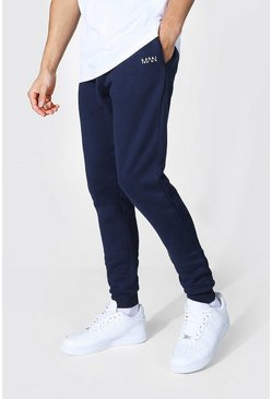 Navy Original Man Skinny Fit Recycled Jogger