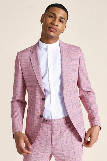 Skinny Check Suit