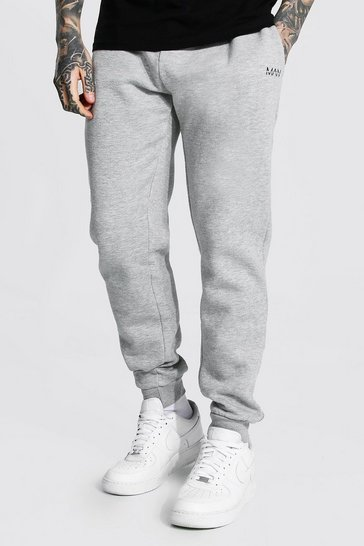 Grey Man Dash Regular Fit Joggers
