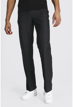 Black Tall Straight Leg Pants