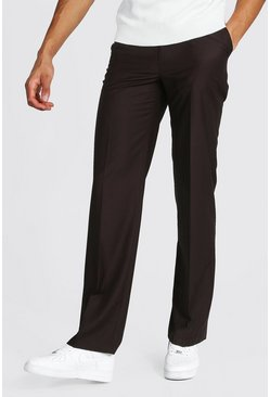 Brown Tall Straight Leg Pants