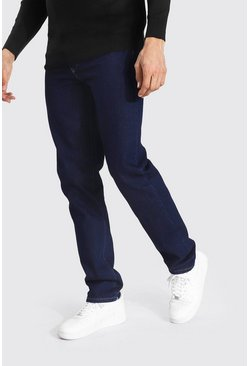 Dark wash blue Tall Straight Leg Jean