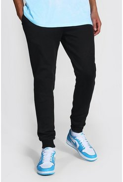 Black Tall Skinny Fit Recycled Jogger