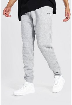 Grey marl grey Tall Recycled MAN Dash Skinny Fit Jogger