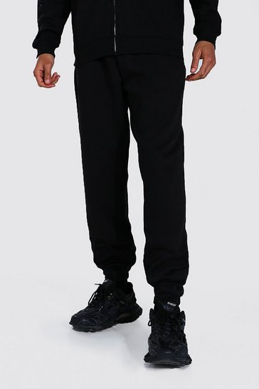 Black Tall Recycled Loose Fit Jogger