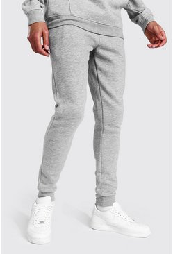 Grey marl grey Tall Skinny Fit Recycled Jogger