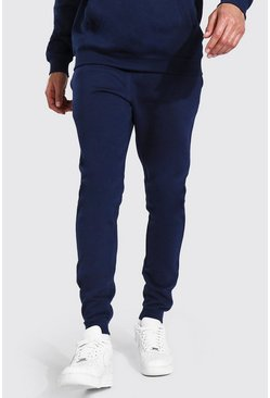 Navy Tall Skinny Fit Recycled Jogger