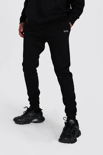 Black Tall Recycled MAN Dash Slim Fit Jogger