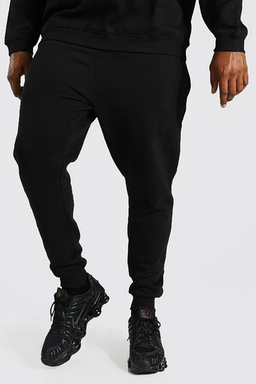 Black Plus Recycled Skinny Fit Jogger