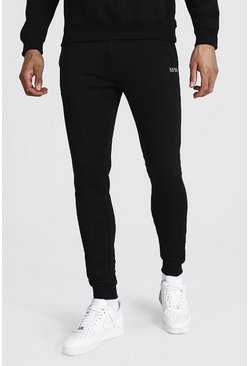 Black Tall Recycled MAN Dash Skinny Fit Jogger
