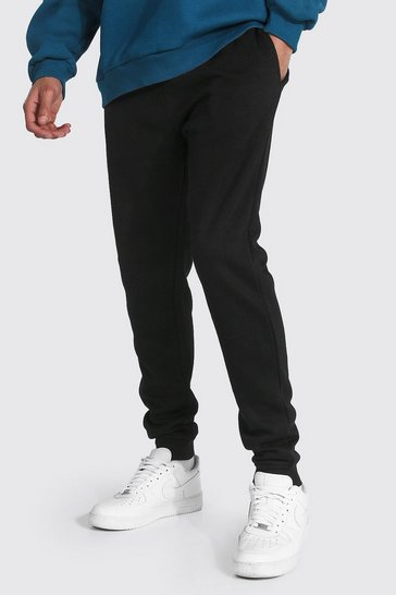 Black Tall Recycled Slim Fit Jogger