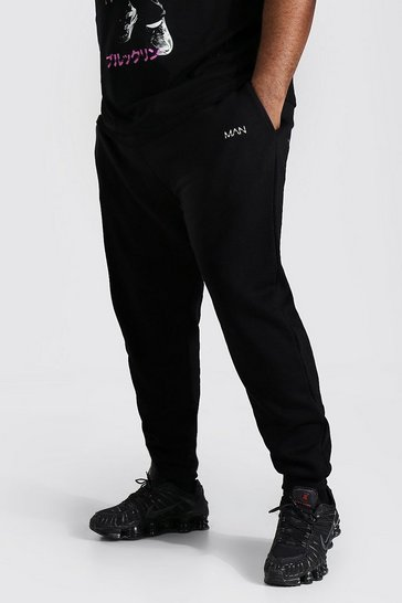 Black Plus Recycled MAN Dash Skinny Fit Jogger